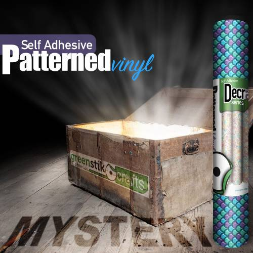 Decra Self Adhesive Mystery Box From GM Crafts