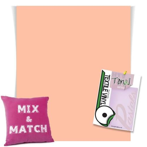 Peach Coloured Heat Transfer Vinyl Sheets From GM Crafts