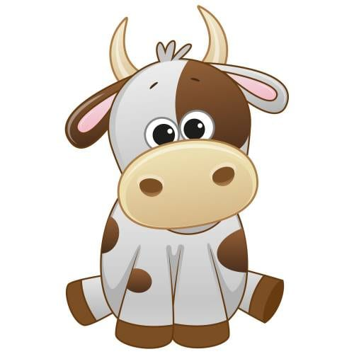 Cute Cow Main Product Image
