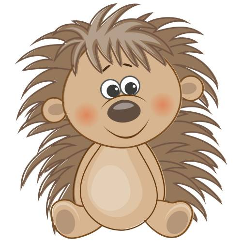 Cute Hedgehog Main Product Image