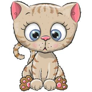 Cute Kitten Main Product Image