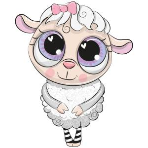 Cute Lamb Main Product Image