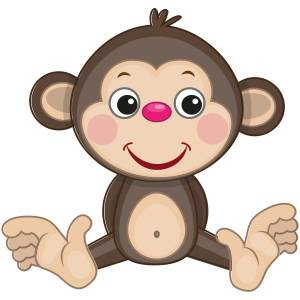 Cute Monkey Main Product Image