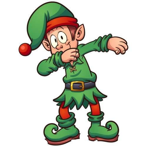 Dabbing Elf Main Image
