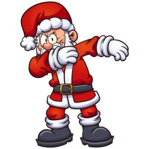 Dabbing Santa Main Image