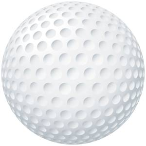 Golf Ball Printed Heat Transfer Iron On Decal From GM Crafts