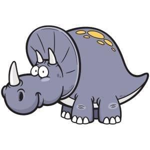 Grey Dinosaur Main Product Image