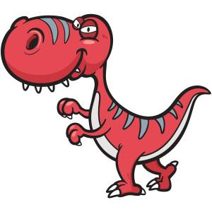 Red Dinosaur Main Product Image
