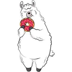 Donut-Llama-Main-Product-Image