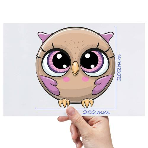 XL-Ball-Animal-Owl-Matt-HTV-Transfer