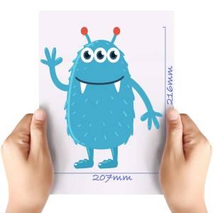 XL-Blue-Monster-Matt-HTV-Transfer