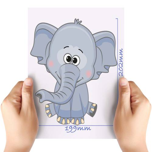 XL-Cute-Elephant-Matt-HTV-Transfer
