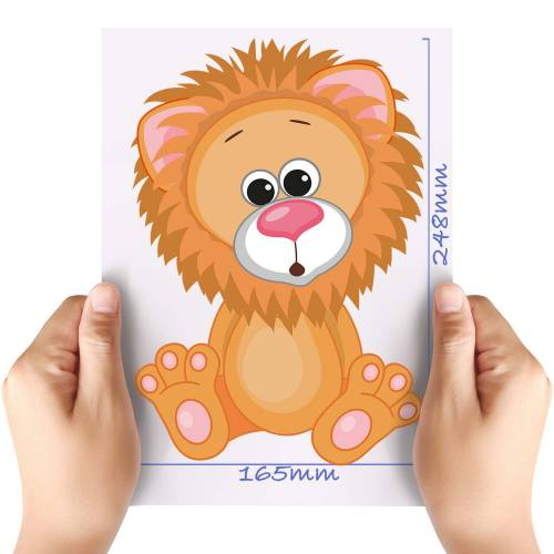 XL-Cute-Lion-Matt-HTV-Transfer