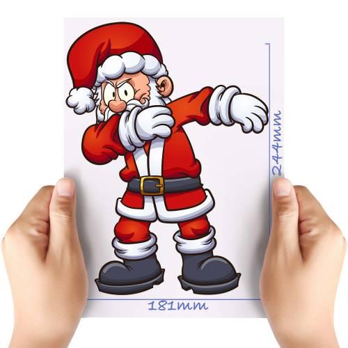 XL-Dabbin-Santa-Matt-HTV-Transfer