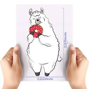 XL-Doughnut-Llama-Matt-HTV-Transfer