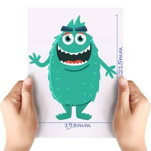 XL-Green-Monster-3-Matt-HTV-Transfer