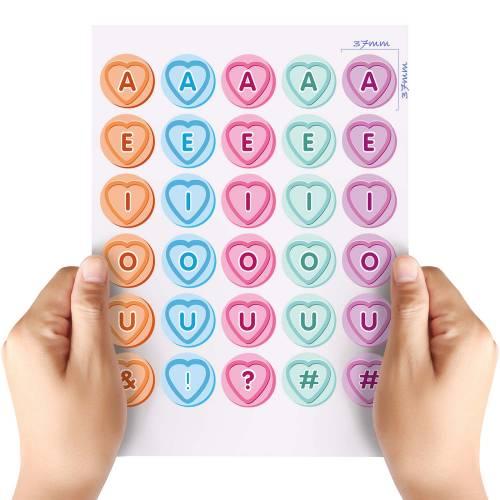 XL-Love-Heart-Vowels-Matt-HTV-Transfer