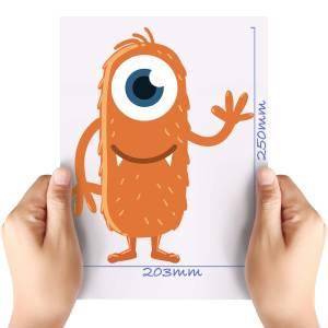 XL-Orange-Monster-Matt-HTV-Transfer