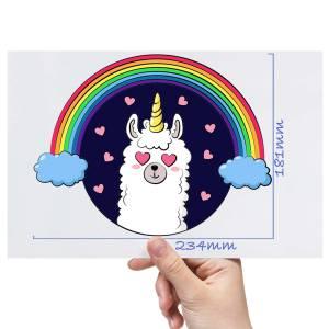 XL-Rainbow-Llama-Matt-HTV-Transfer