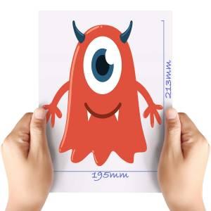 XL-Red-3-Monster-Matt-HTV-Transfer