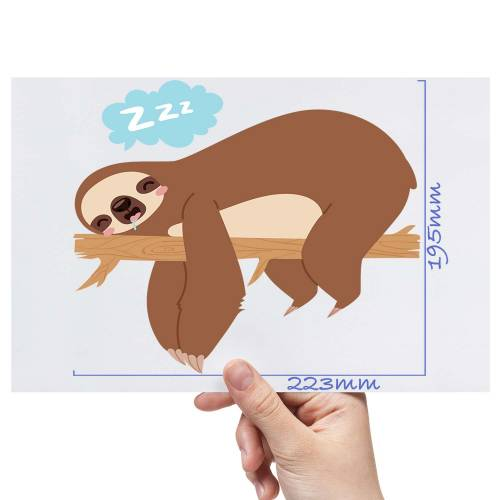XL-Sleeping-Sloth-Matt-HTV-Transfer