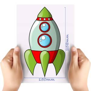 XL-Space-Rocket-5-Matt-HTV-Transfer