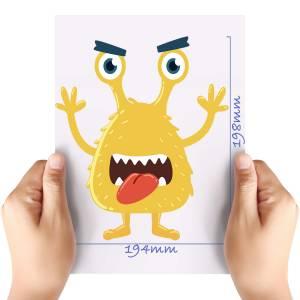 XL-Yellow-Monster-Matt-HTV-Transfer