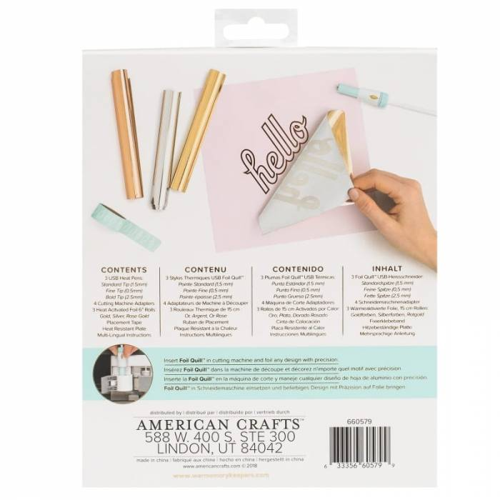 Foil Quill Starter Kit Reverse GM Crafts