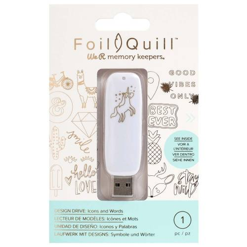 WRMK-Foil-Quill-Icons-USB-From-GM-Crafts