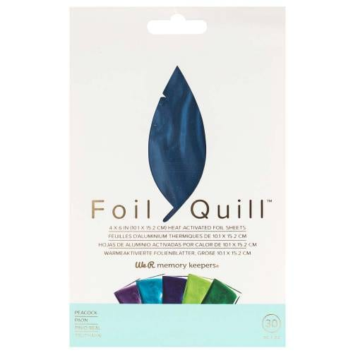 WRMK-Peacock-Foil-Quill-Sheets-From-GM-Crafts