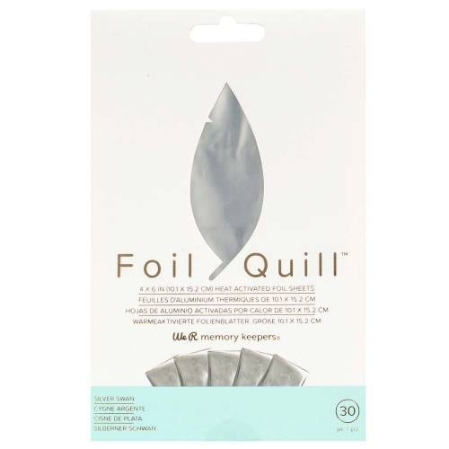 WRMK-Silver-Swann-Foil-Quill-Sheets-From-GM-Crafts