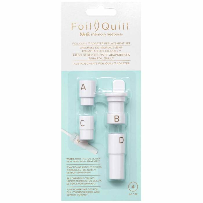 Foil-Quill-Adapter-Replacement-Set