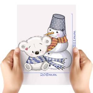 XL-Christmas-Bear-2-Matt-HTV-Transfer