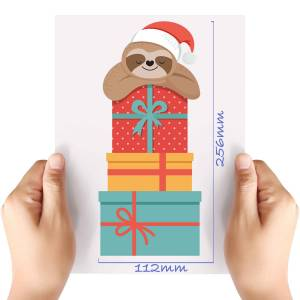 XL-Christmas-Sloth-2-Matt-HTV-Transfer