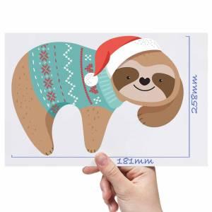 XL-Christmas-Sloth-Matt-HTV-Transfer