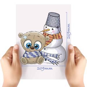 XL-Christmas-Teddy-2-Matt-HTV-Transfer