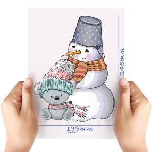 XL-Christmas-Teddy-4-Matt-HTV-Transfer