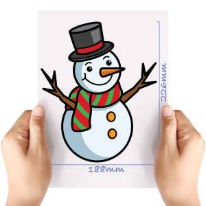 XL-Snowman-2-Matt-HTV-Transfer