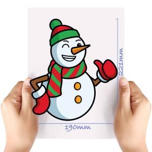 XL-Snowman-4-Matt-HTV-Transfer
