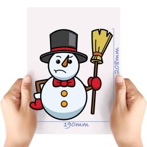 XL-Snowman-6-Matt-HTV-Transfer