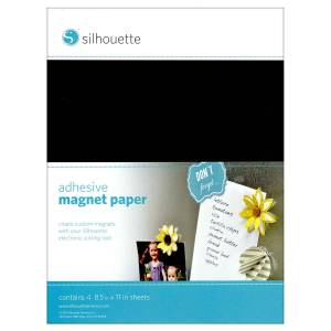 Silhouette-Adhesive-Magnet-Paper