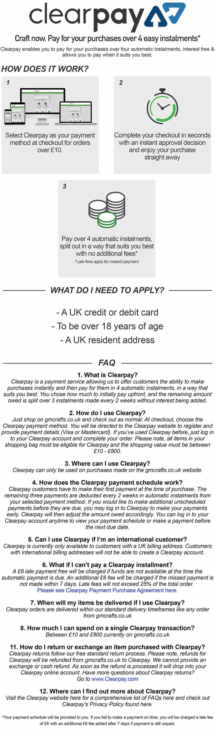 Mobile-ClearPay-FAQ-Page