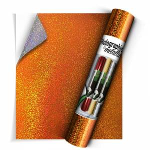 Holographic-Orange-SA-Vinyl-From-GM-Crafts