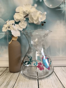 Example - Vinyl on vase