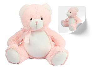 Mumbles Zippie New Baby Bear PINK