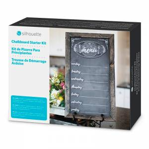 SILHOUETTE CHALKBOARD STARTER KIT FROM GM CRAFTS